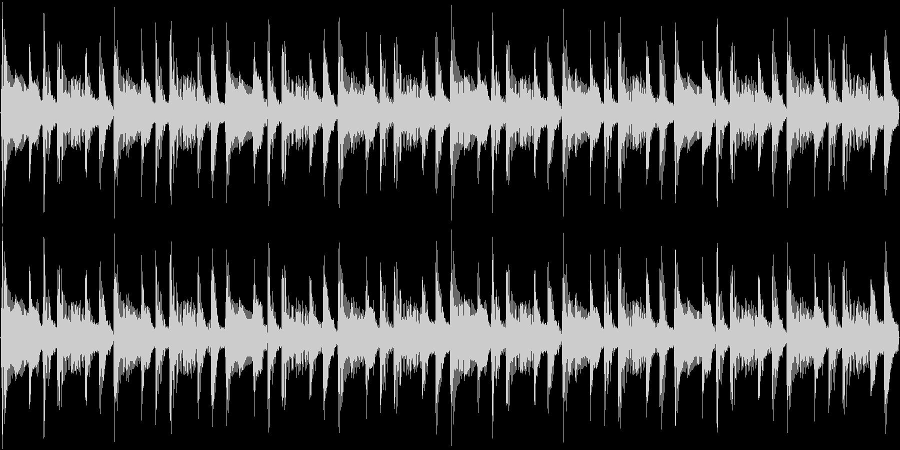 124bpm、A-Maj1コードループ。の未再生の波形