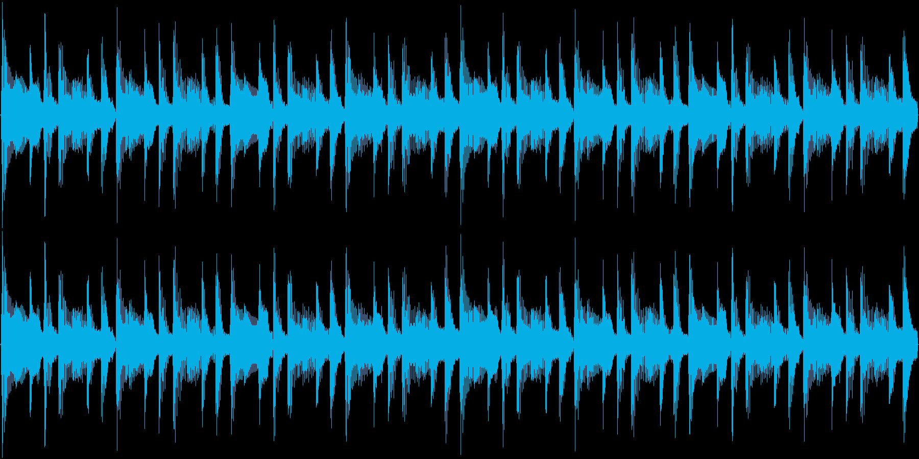 124bpm、A-Maj1コードループ。の再生済みの波形