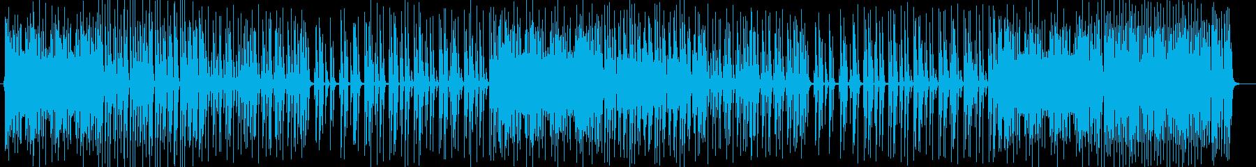 はじけるギター・シンセなどポップEDMの再生済みの波形