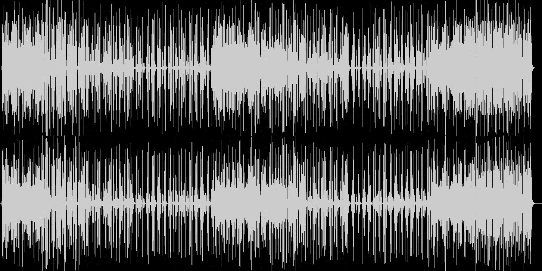 はじけるギター・シンセなどポップEDMの未再生の波形