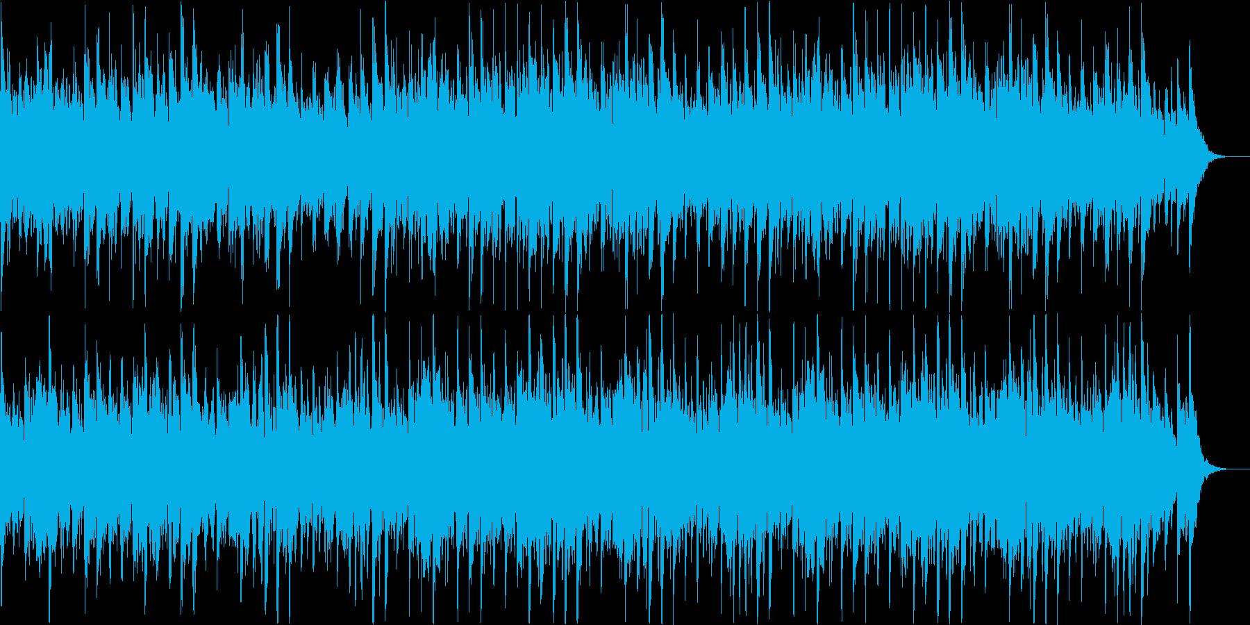 感動的なサウンドの再生済みの波形