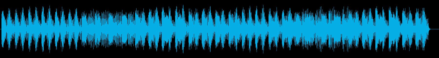 ドラマティックなミステリーミュージックの再生済みの波形