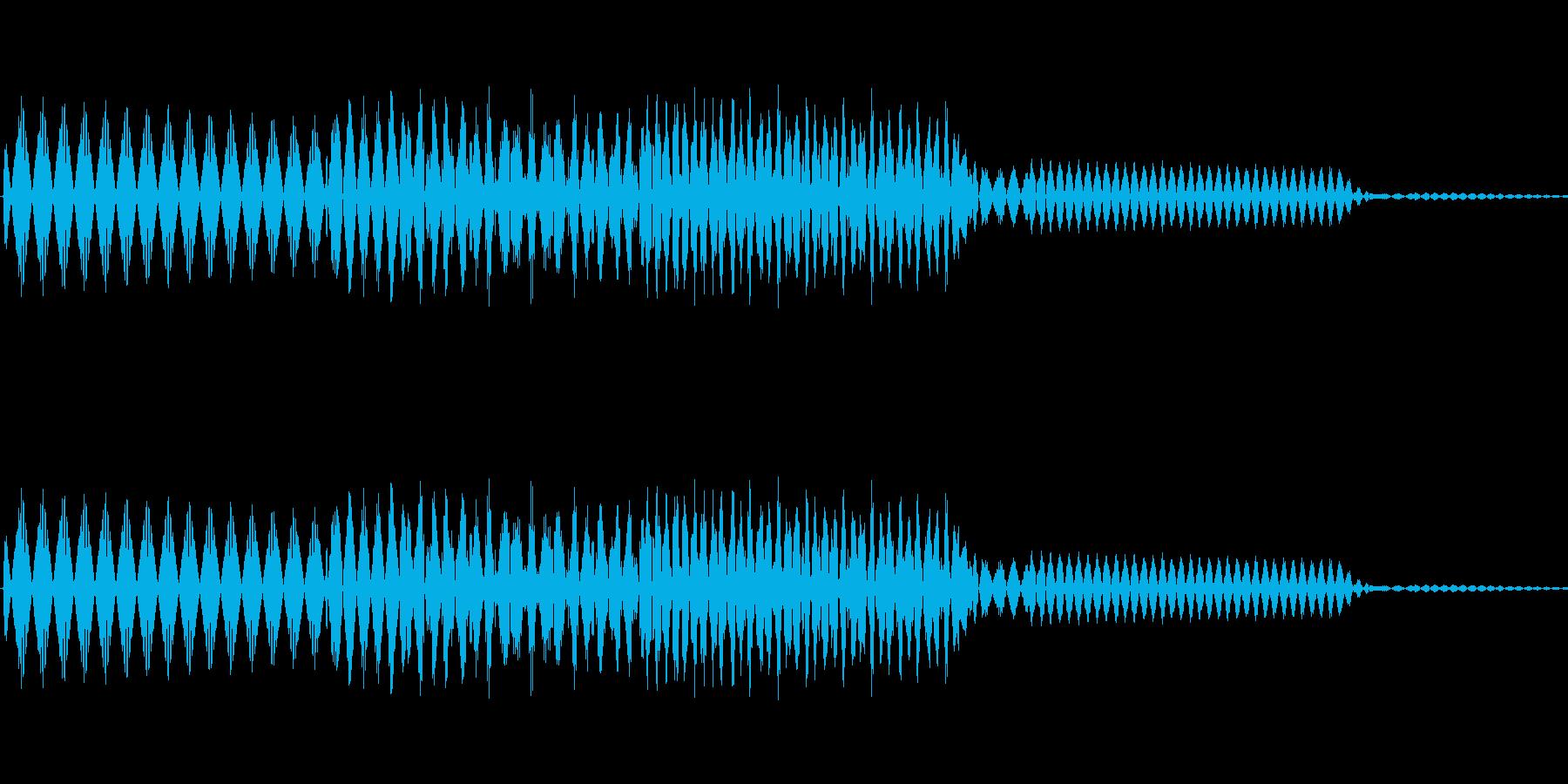 ボタン決定音システム選択タッチ登録C09の再生済みの波形