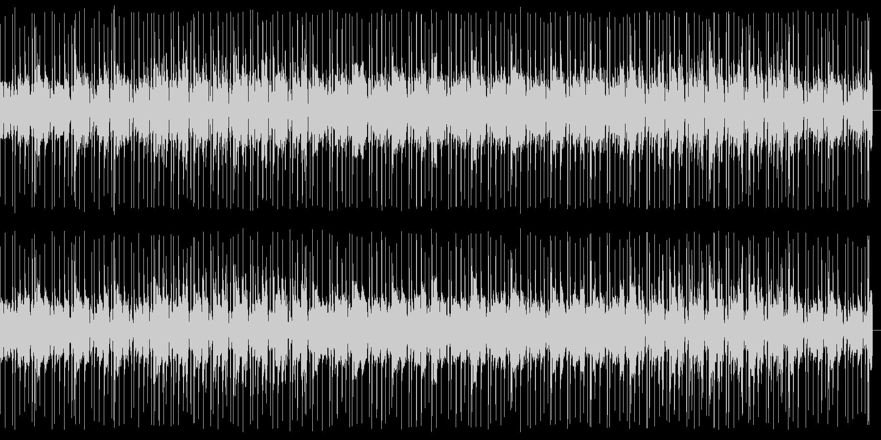 ブラスとオルガンが軽快なソウル/ファンクの未再生の波形