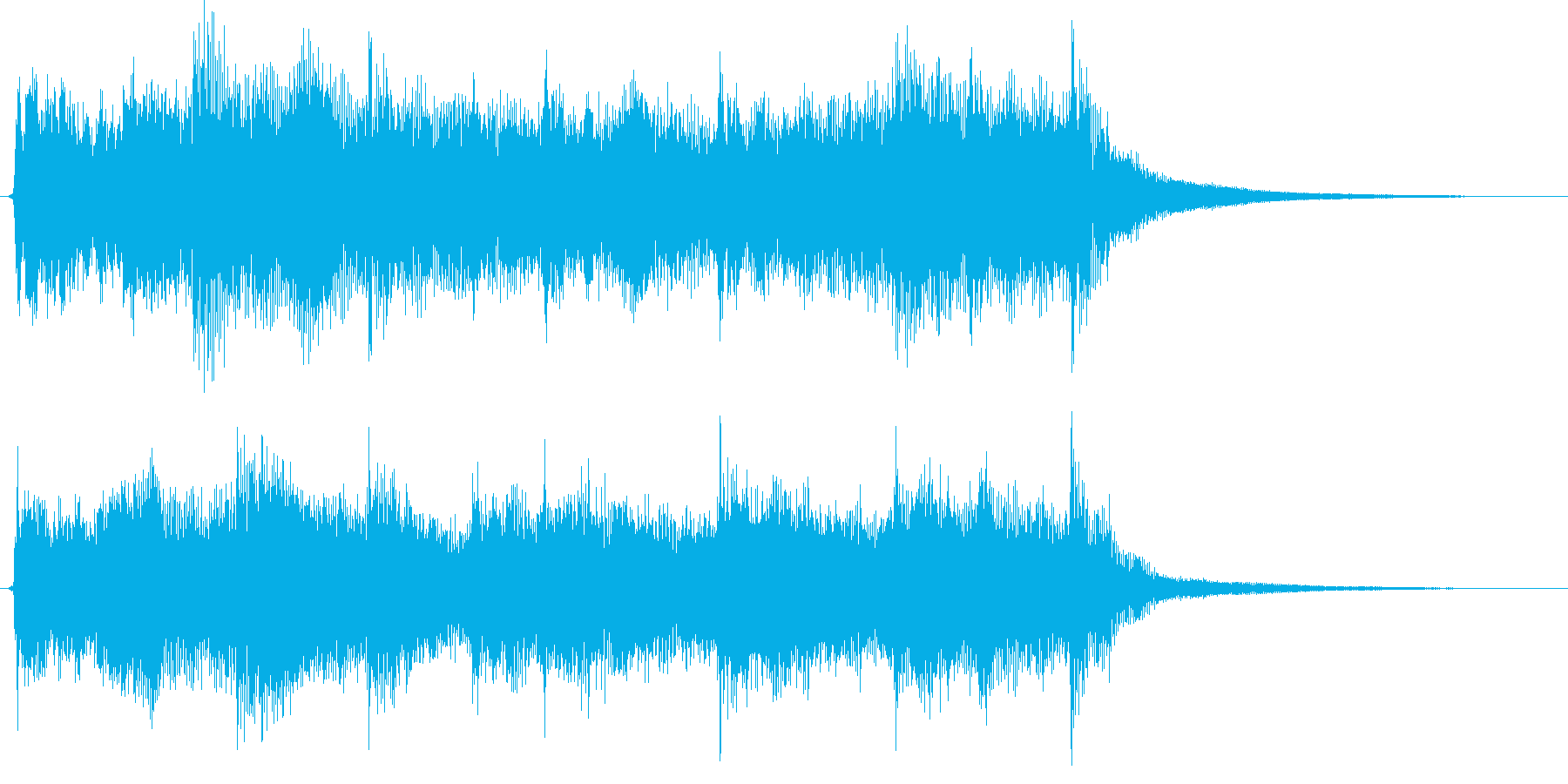 映像用BGM_ショッキング1の再生済みの波形