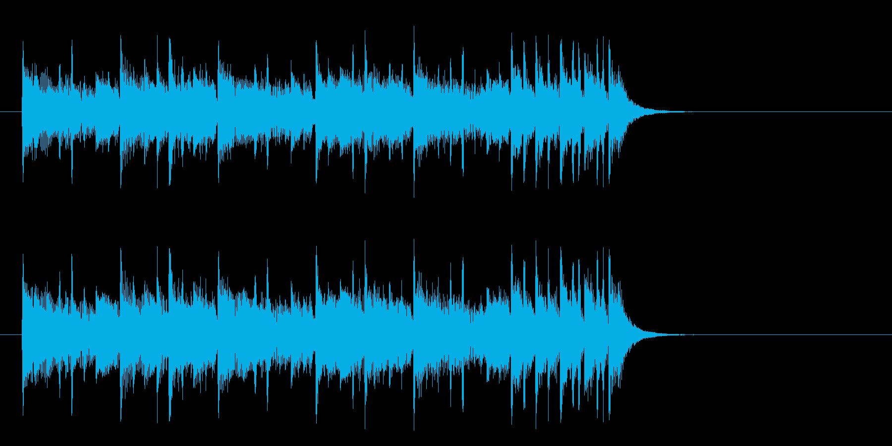 旅情漂うミディアムポップ(イントロ)の再生済みの波形
