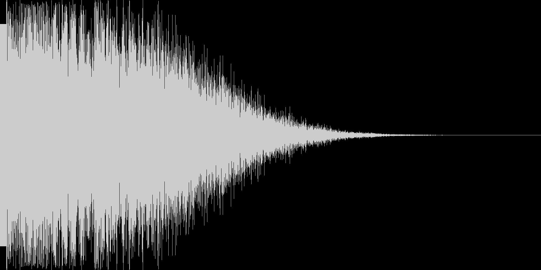 カキーン(レアアイテム 勝利 ゴール)の未再生の波形