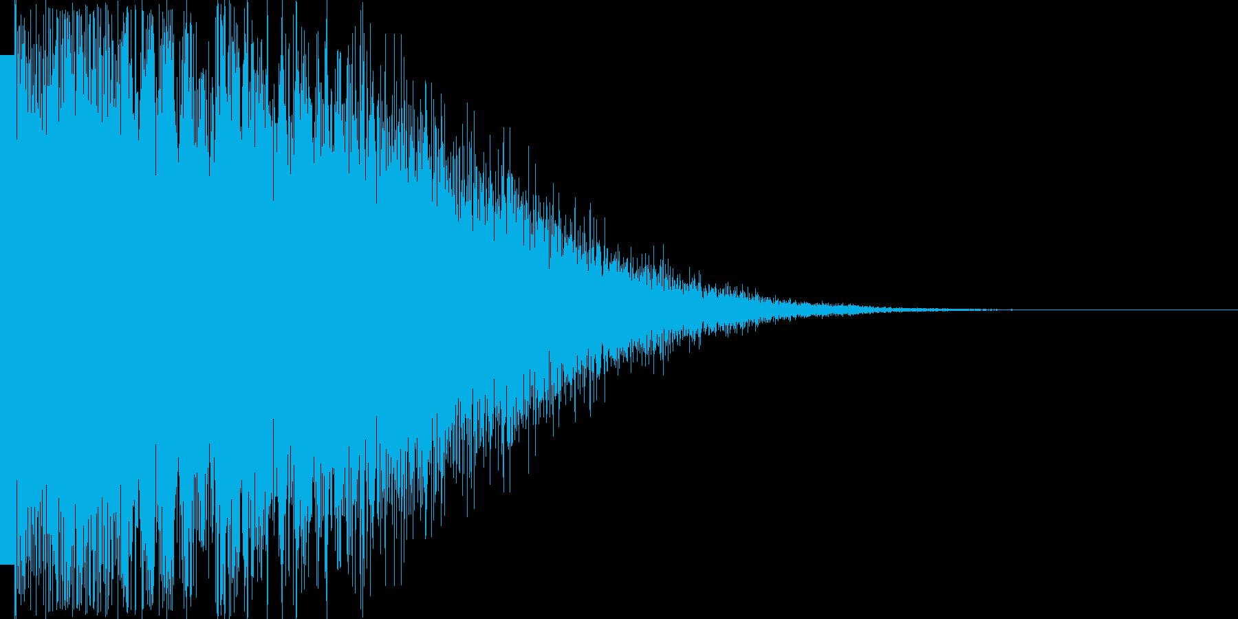 カキーン(レアアイテム 勝利 ゴール)の再生済みの波形