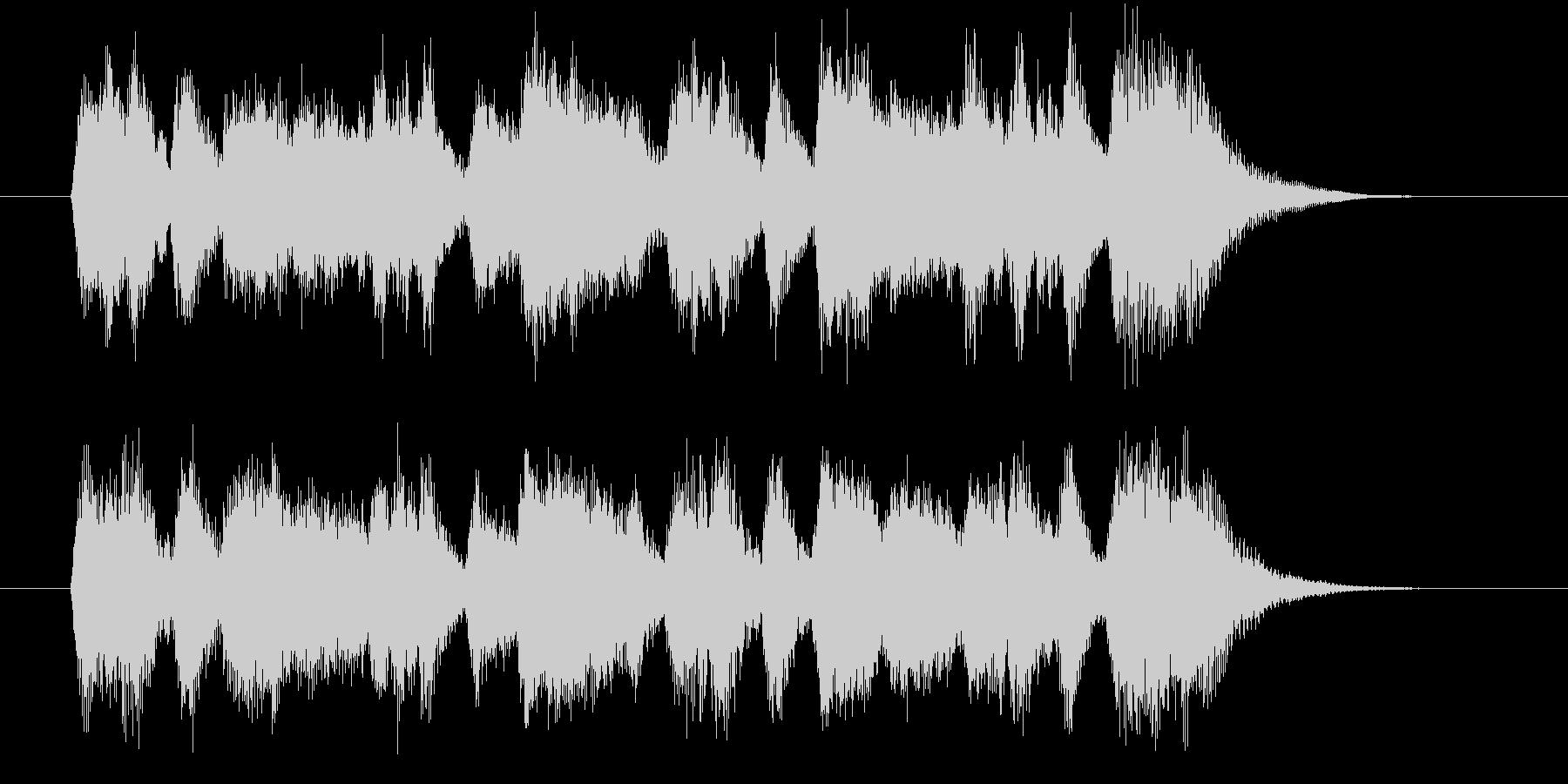 豪華で美しいシンセオルガンサウンドの未再生の波形