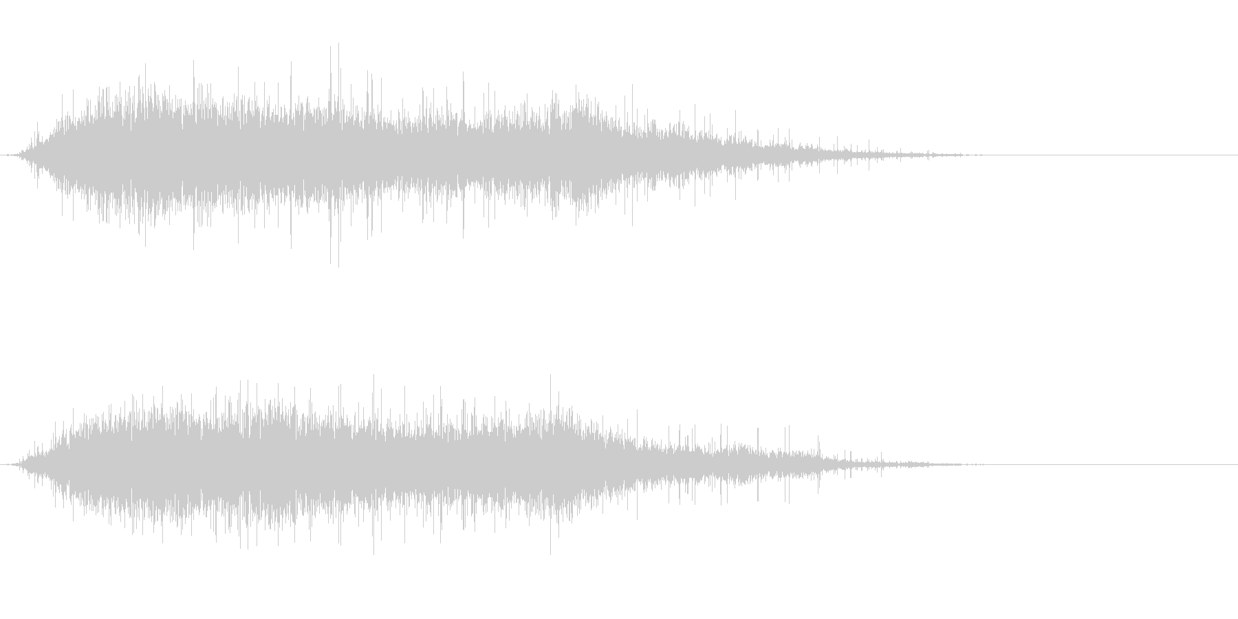 歓声1 (ワオッ!パチパチパチ…)の未再生の波形