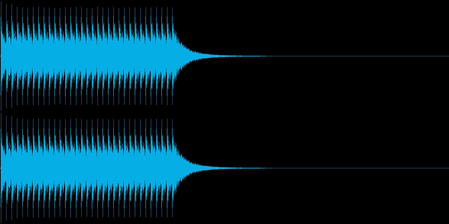 ジリリリ。非常ベルA(低)の再生済みの波形