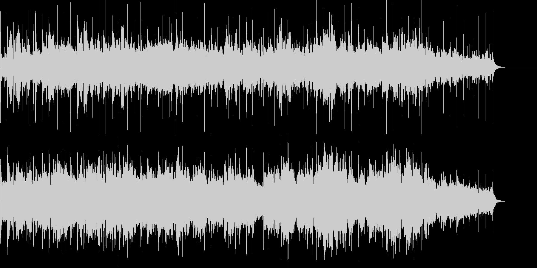 シンセサイザーによるほのぼの近未来ポップの未再生の波形