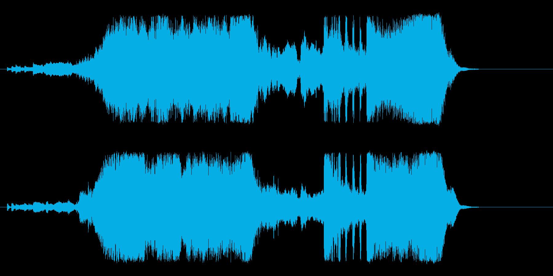 ファンタジー、オーケストラ、イントロロゴの再生済みの波形
