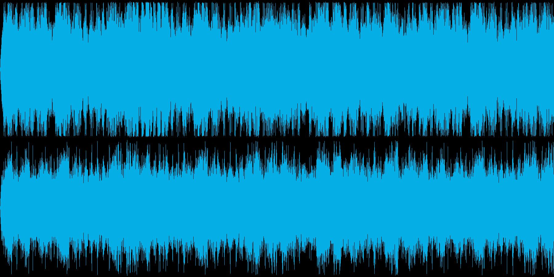 プロテスタント派の賛美歌を模したBGM…の再生済みの波形