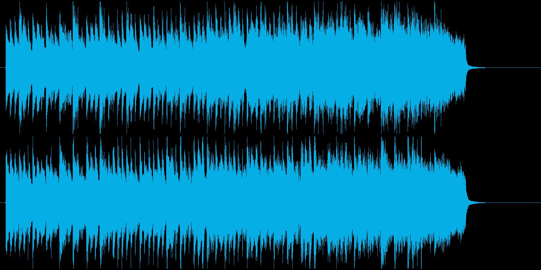 神秘的で壮大な森の中のようなBGMの再生済みの波形