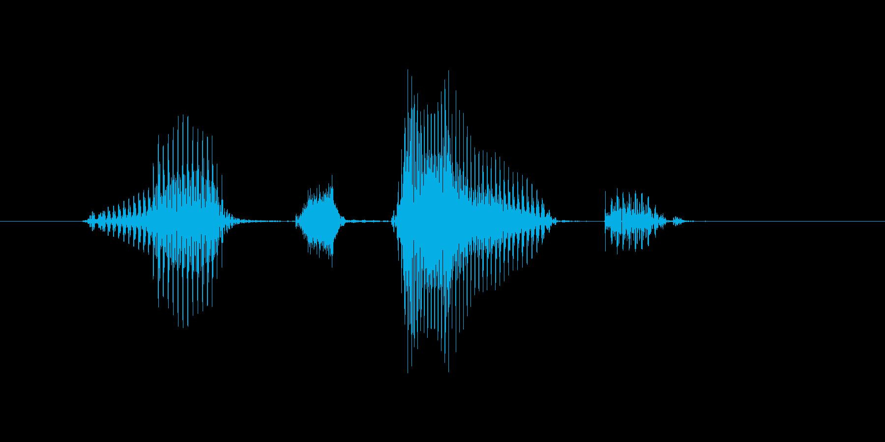 マッチポイントの再生済みの波形