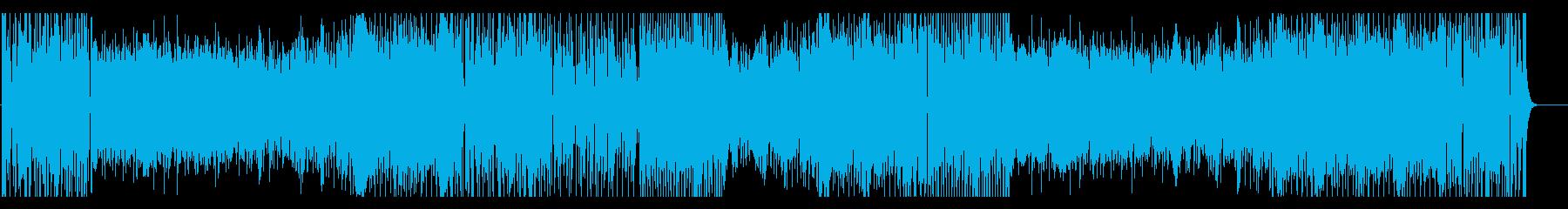 パズルゲームなイメージのテクノポップの再生済みの波形
