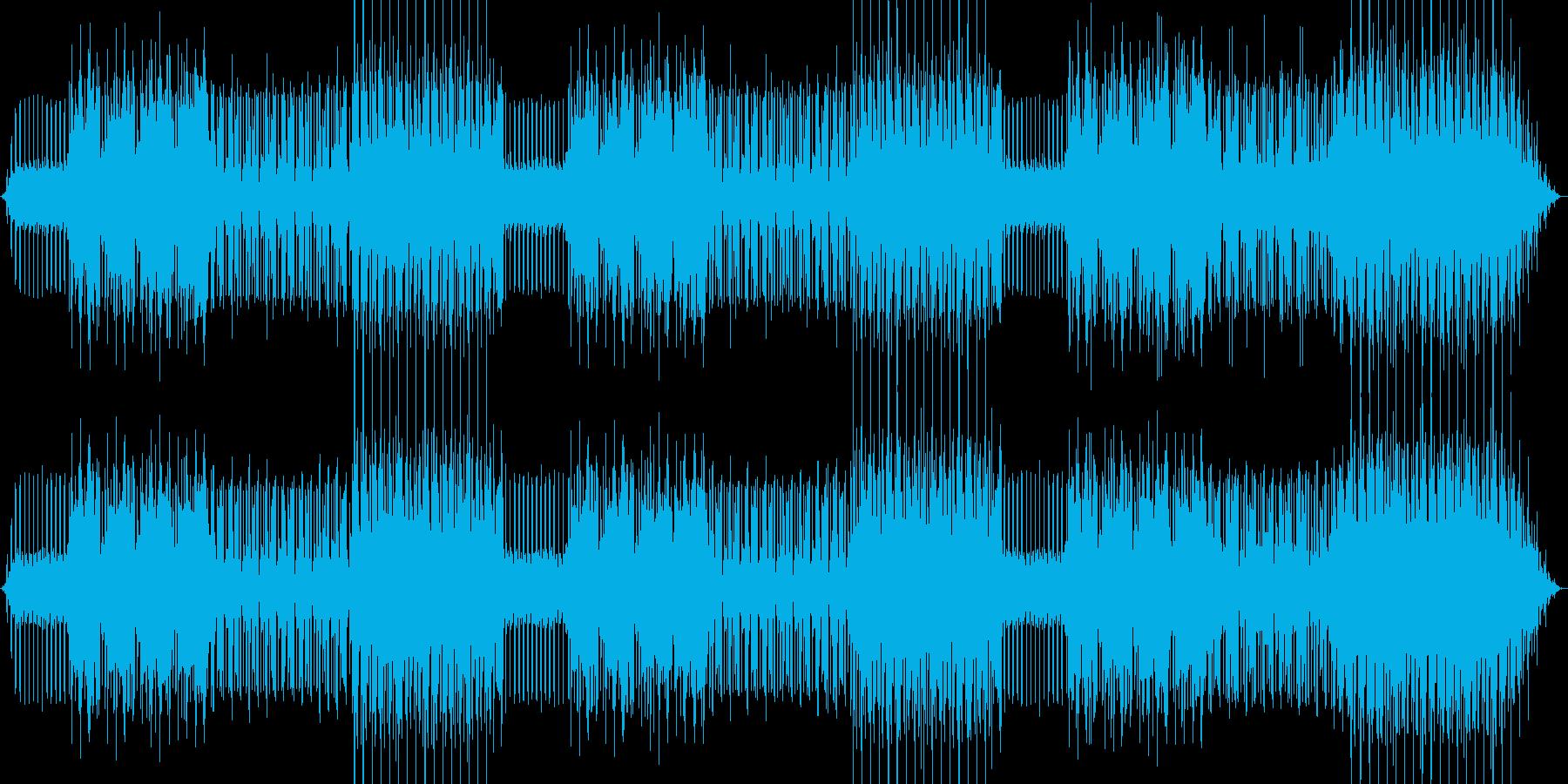 コンビニのサンドイッチを表した曲の再生済みの波形