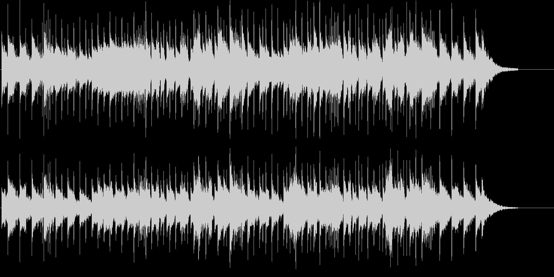あやしい 神秘 不安 不思議 サスペンスの未再生の波形
