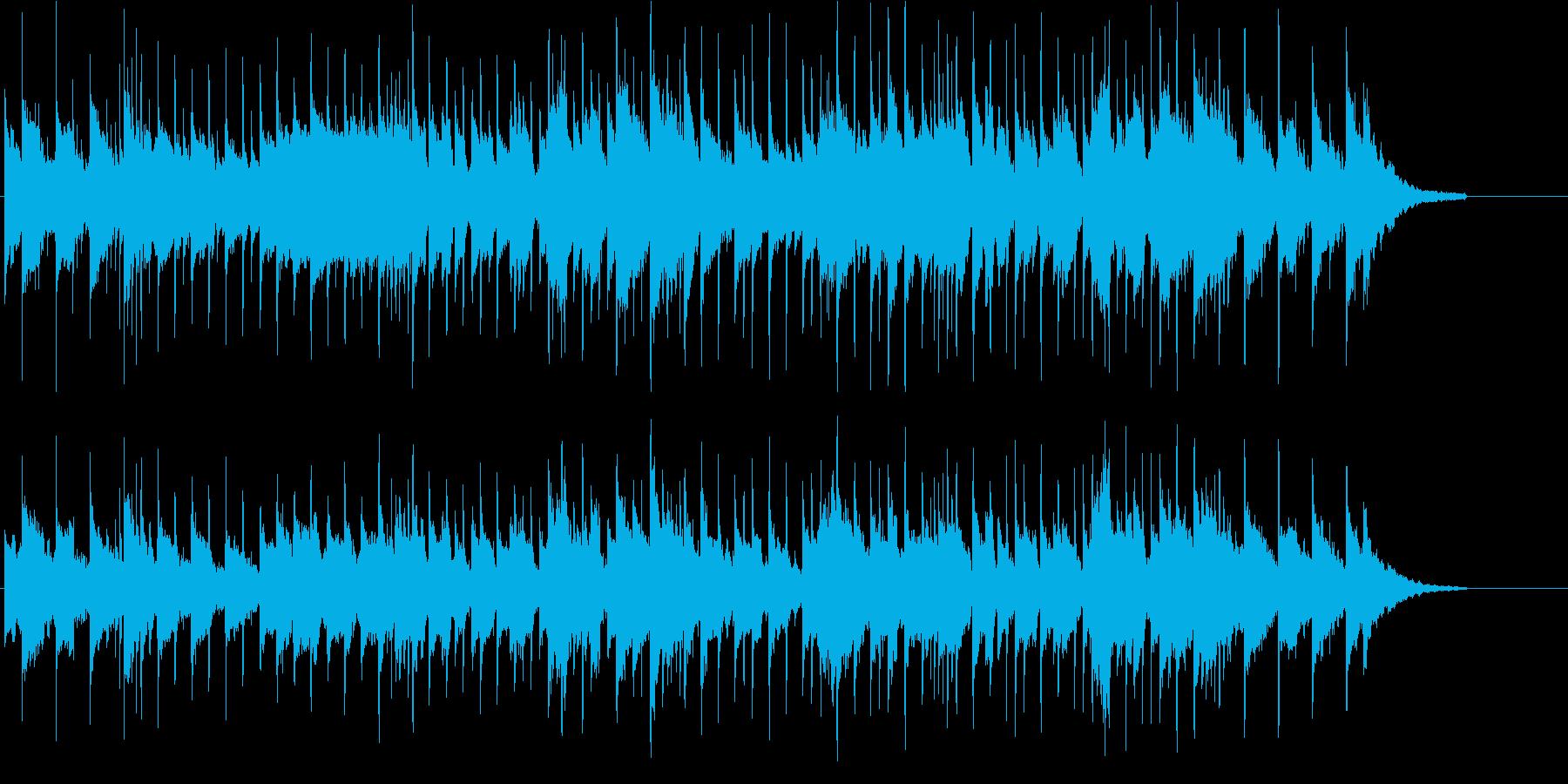 あやしい 神秘 不安 不思議 サスペンスの再生済みの波形