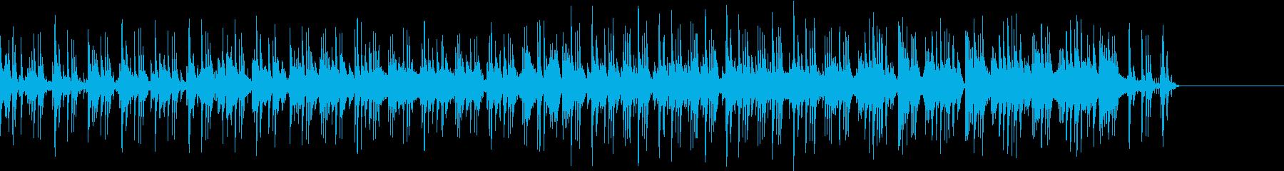 Jazzのピアノトリオ編成の速い曲ですの再生済みの波形