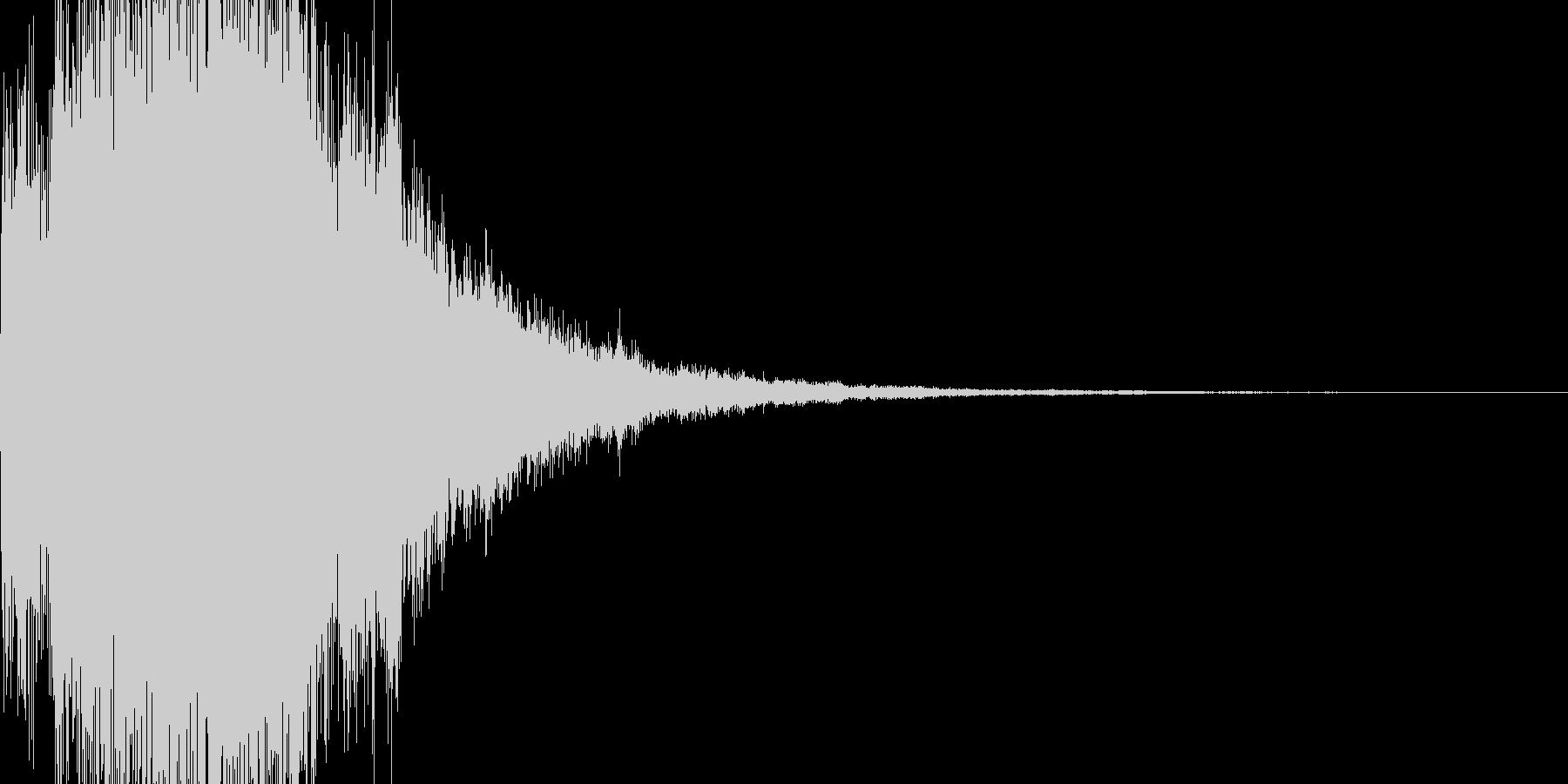 決定音 ピロリロリンの未再生の波形