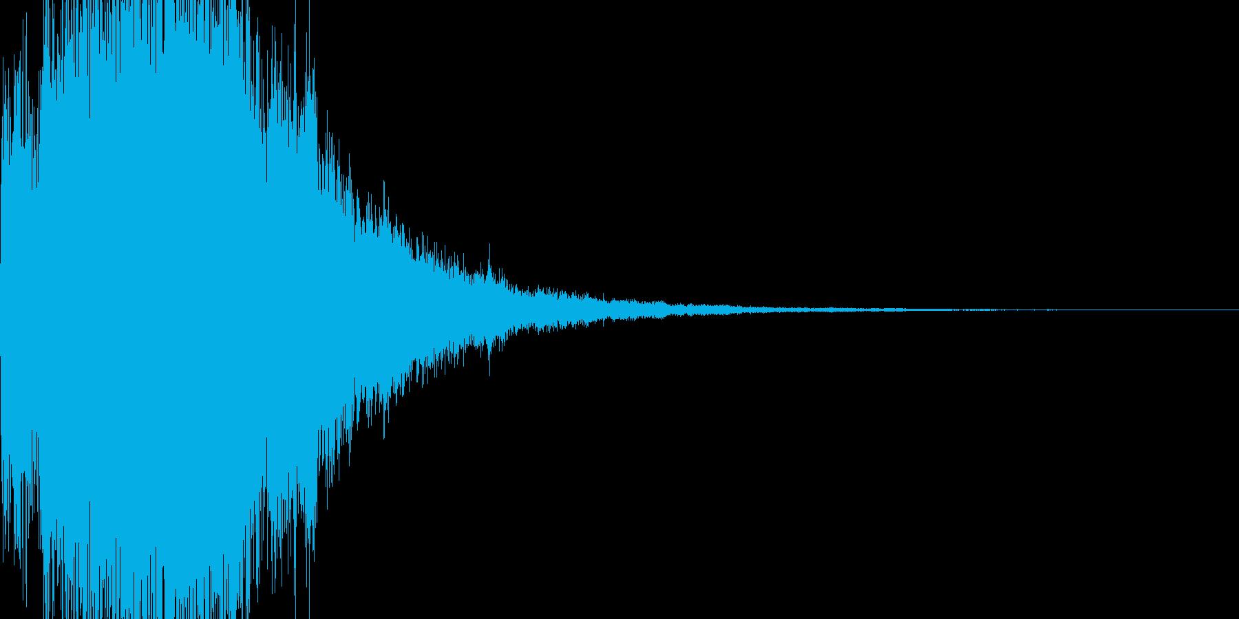決定音 ピロリロリンの再生済みの波形