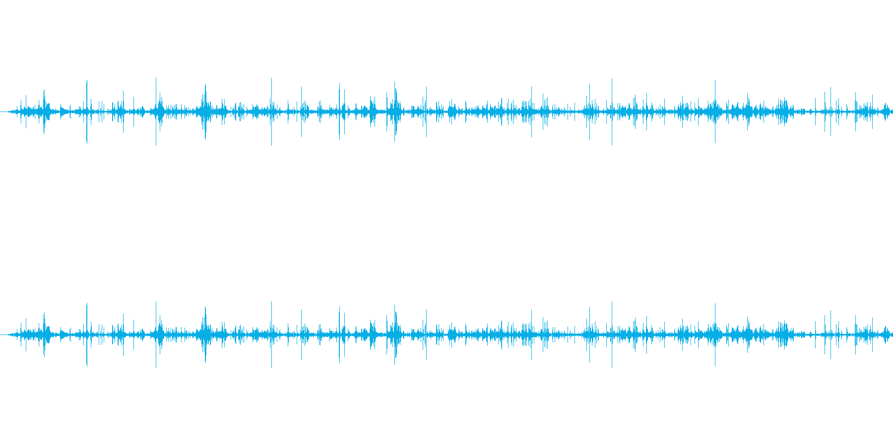 ぐちゃぐちゃ(長め)の再生済みの波形