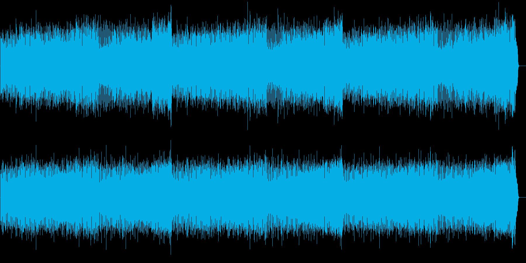 伸びのびとした明るめのポップ・サウンドの再生済みの波形