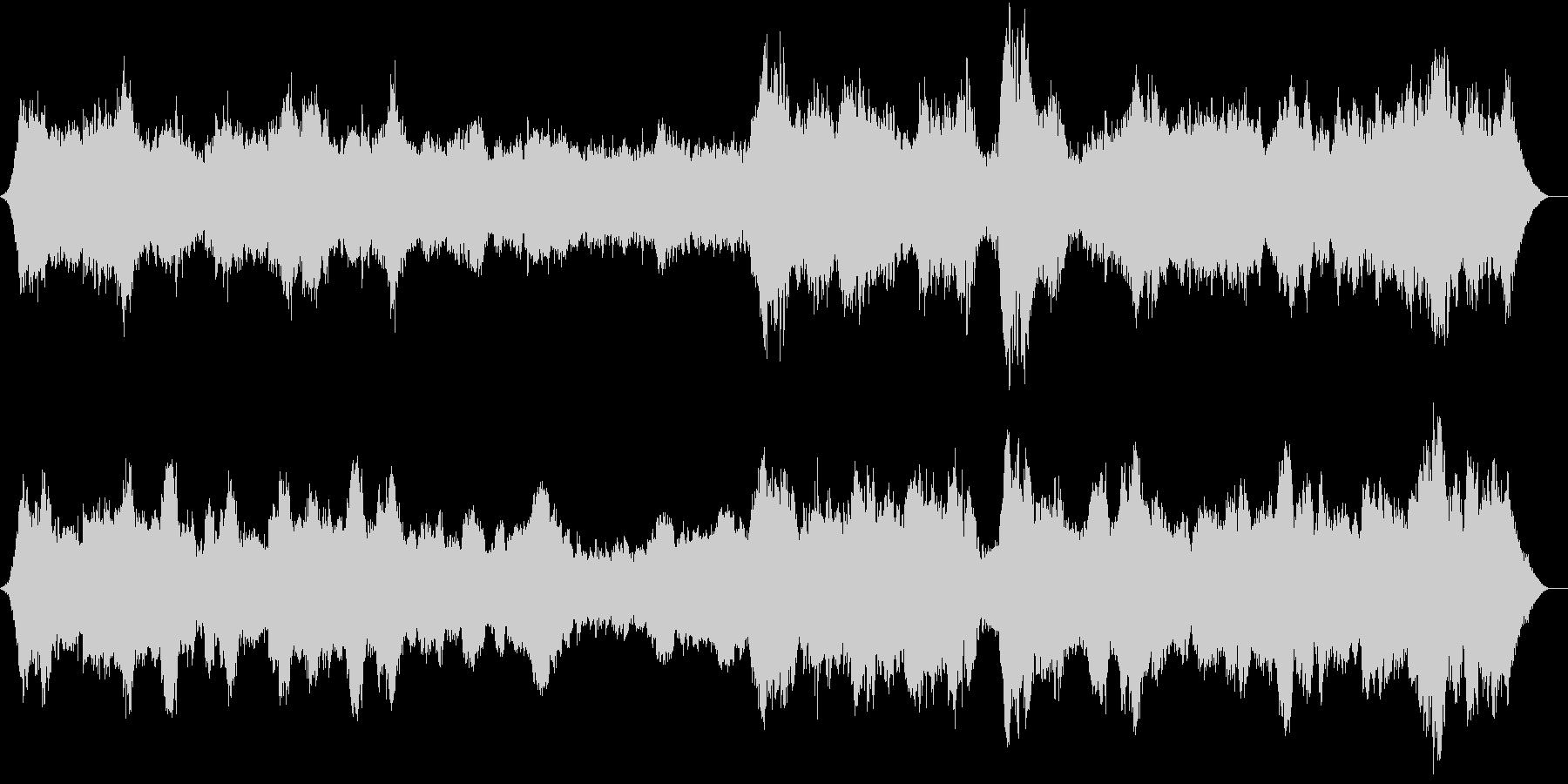 幻想的な映像向けのオーケストラの未再生の波形