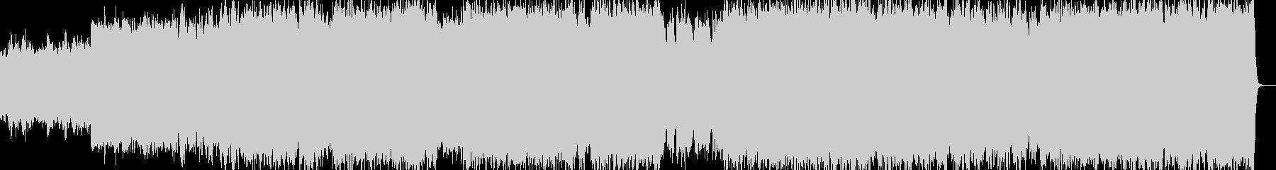 バッハのオルガン曲「小フーガト短調」の未再生の波形