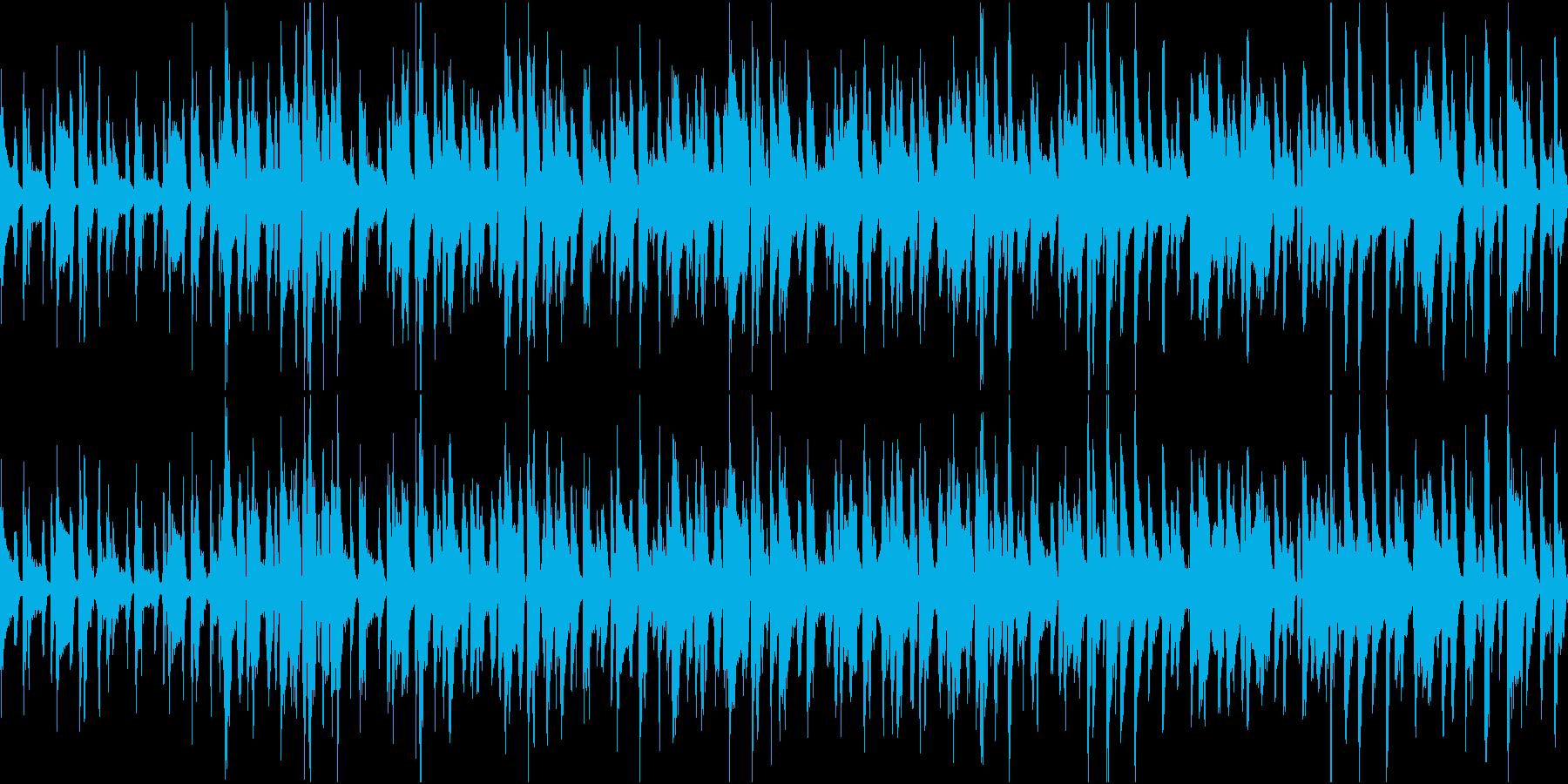 口笛がかわいいアコギのほのぼのBGMの再生済みの波形