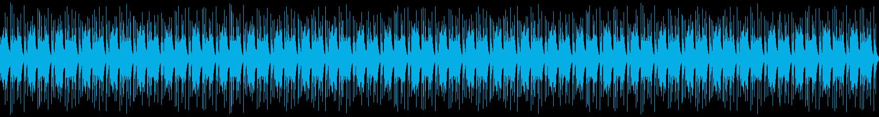 鐘/カウベル/シンセのループ の再生済みの波形