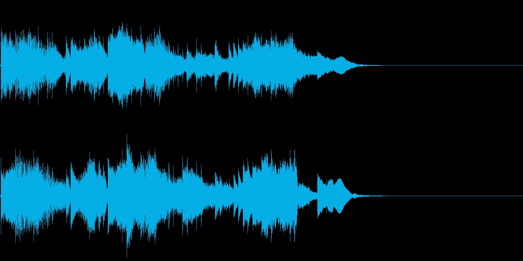blue songの再生済みの波形