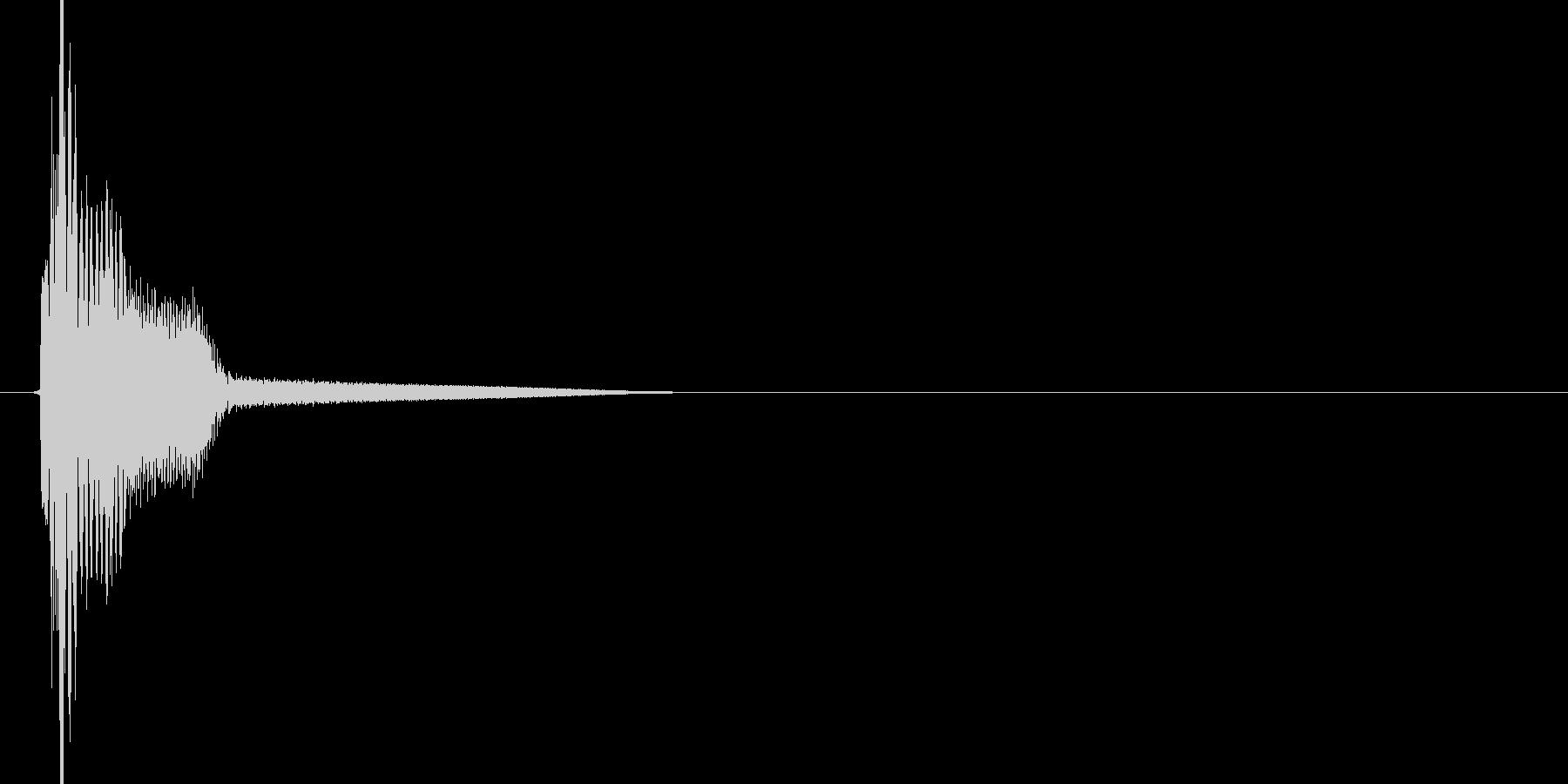 ピロッ(テロップ、テレビ、バラエティー)の未再生の波形