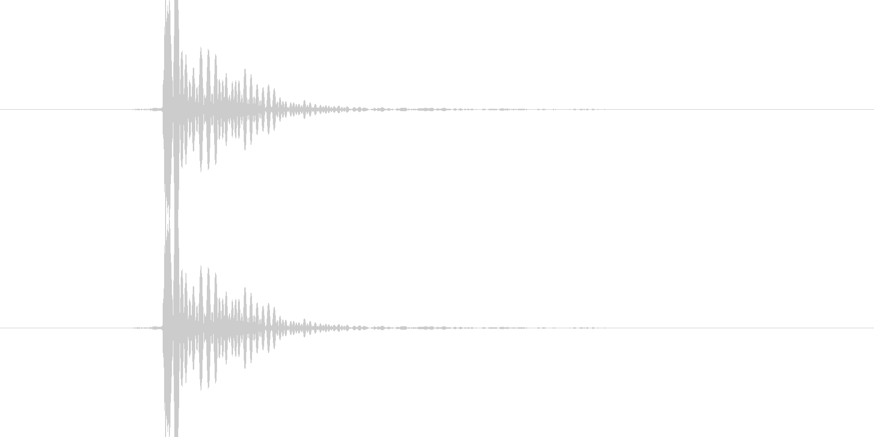 「ぽんっ」決定音や選択音、蓋を取る音等にの未再生の波形