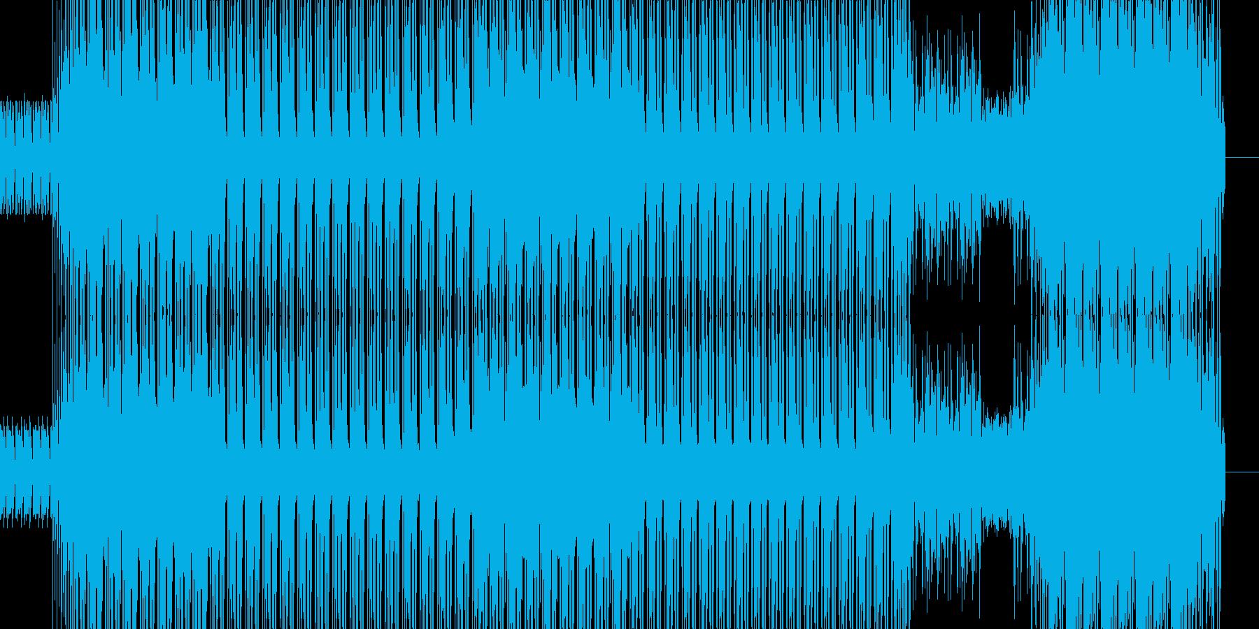 うるさいぐらいにかき鳴らしたジャズギタ…の再生済みの波形