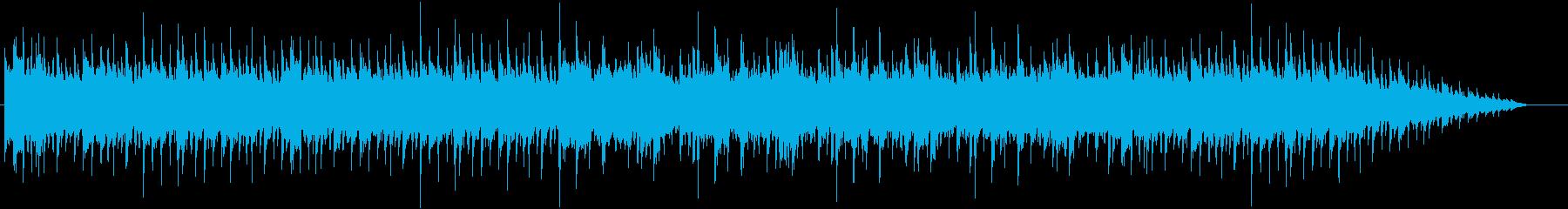 134bpm、E-Maj、16ビートの再生済みの波形