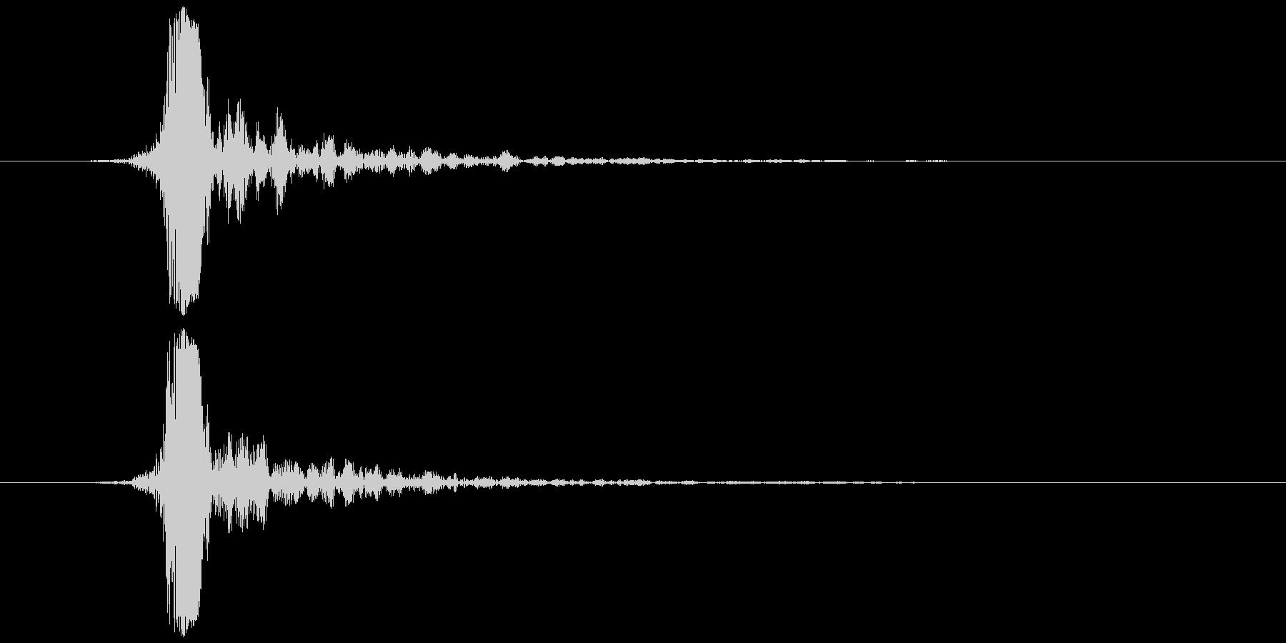 指パッチン(フィンガースナップB)の未再生の波形