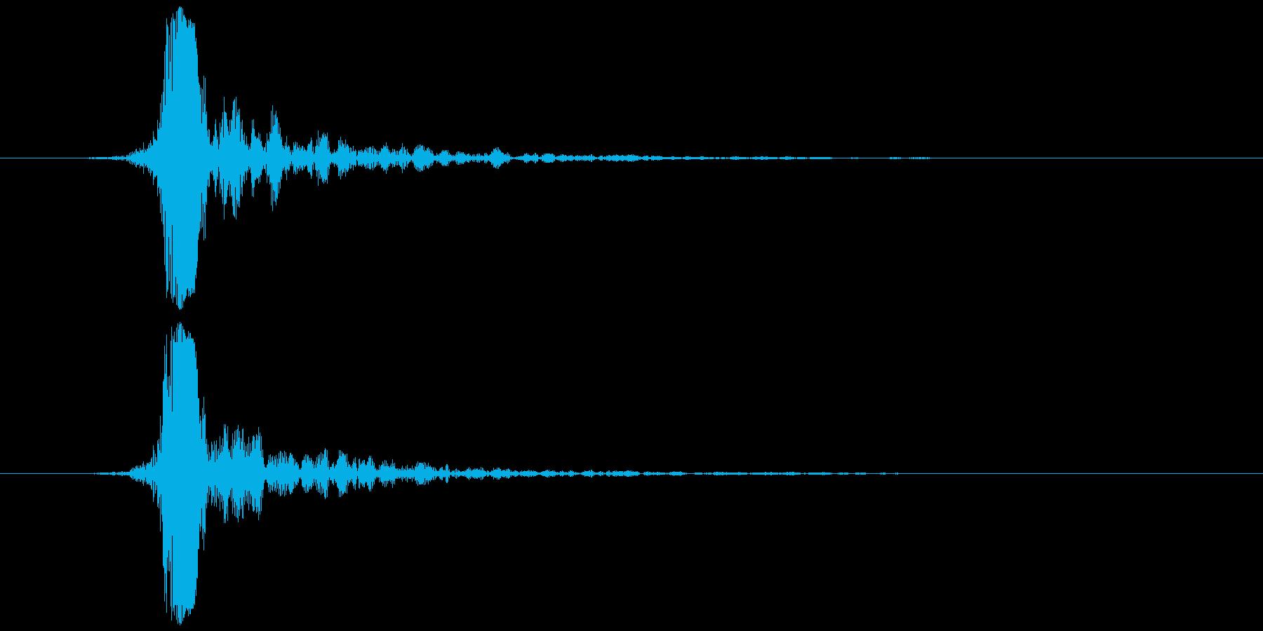 指パッチン(フィンガースナップB)の再生済みの波形