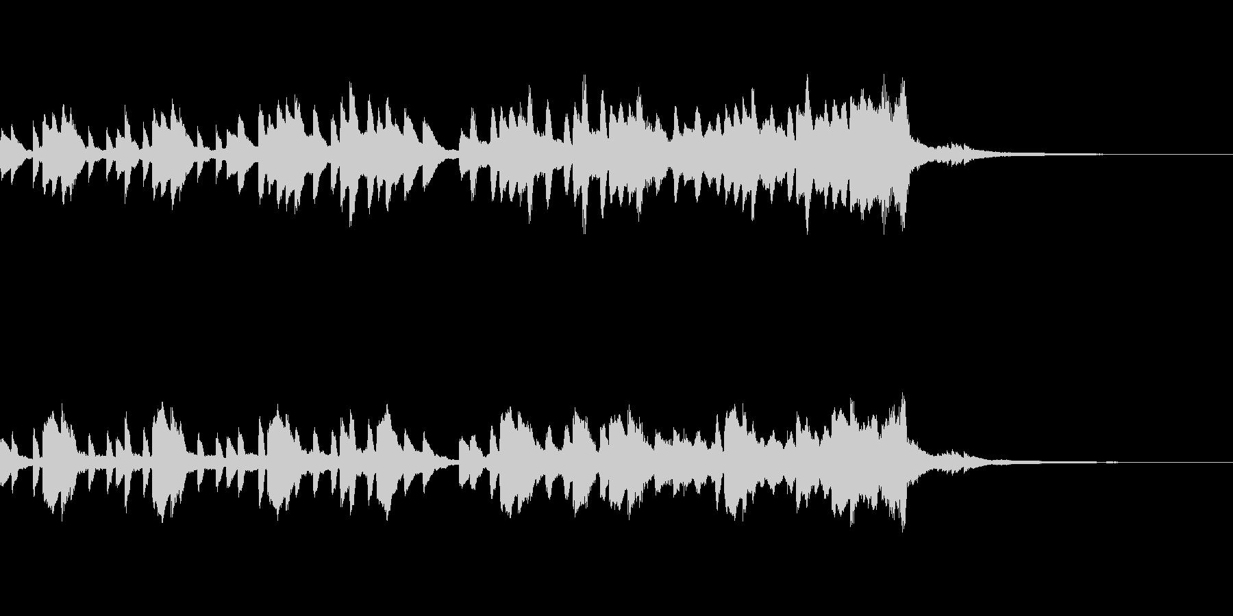 少し切ないピアノ&ストリングス ジングルの未再生の波形