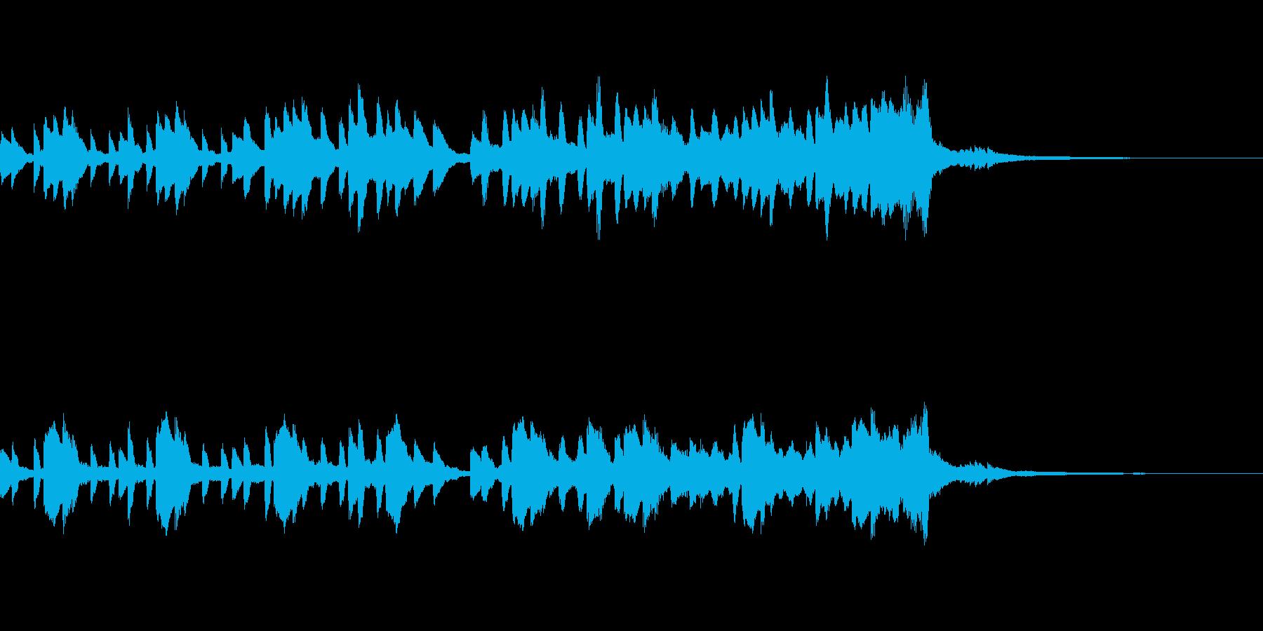 少し切ないピアノ&ストリングス ジングルの再生済みの波形