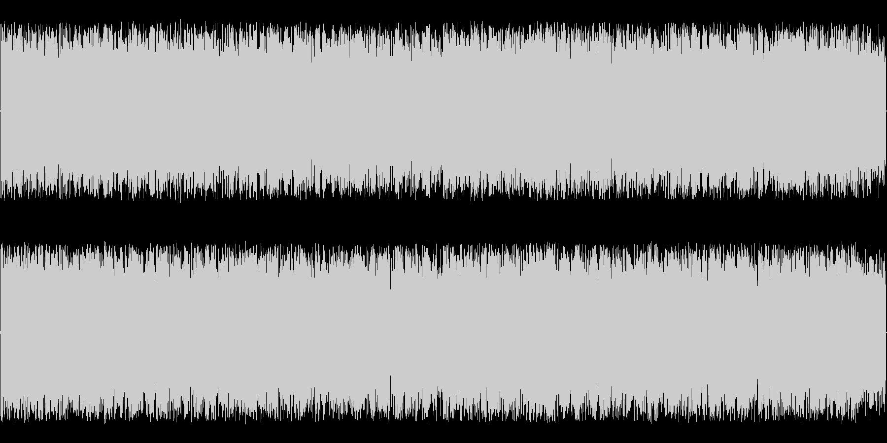 緊迫感のある高速ギターメタルラスボス系…の未再生の波形