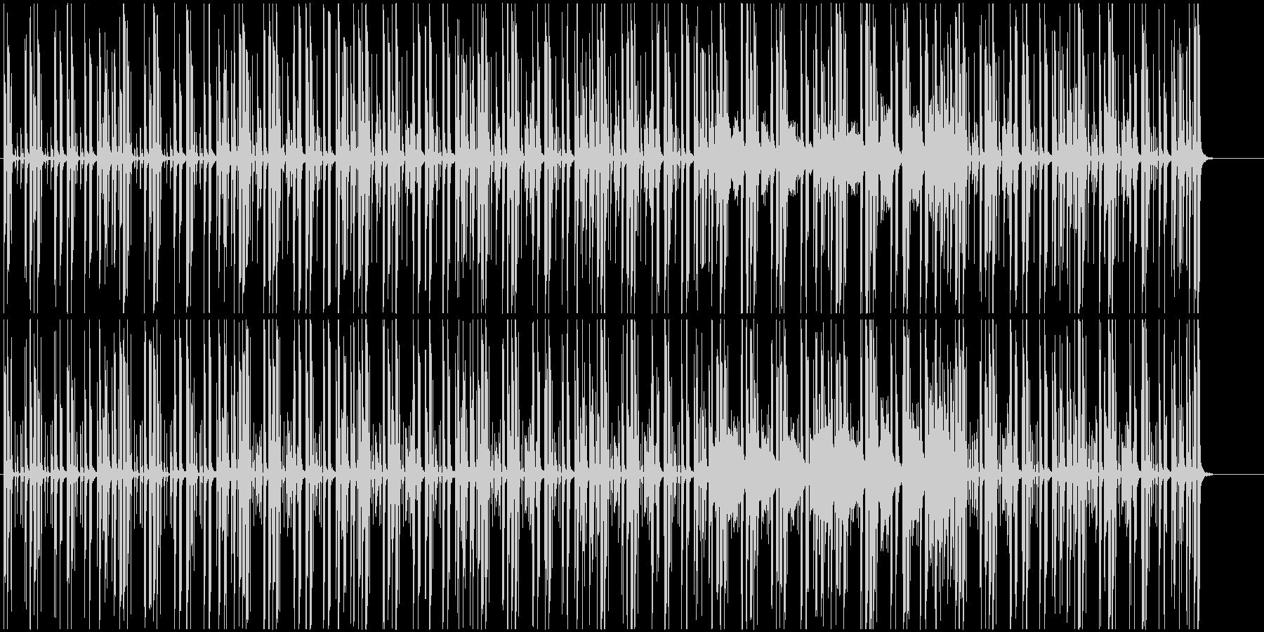 かわいい感じのJazz,Funkの未再生の波形