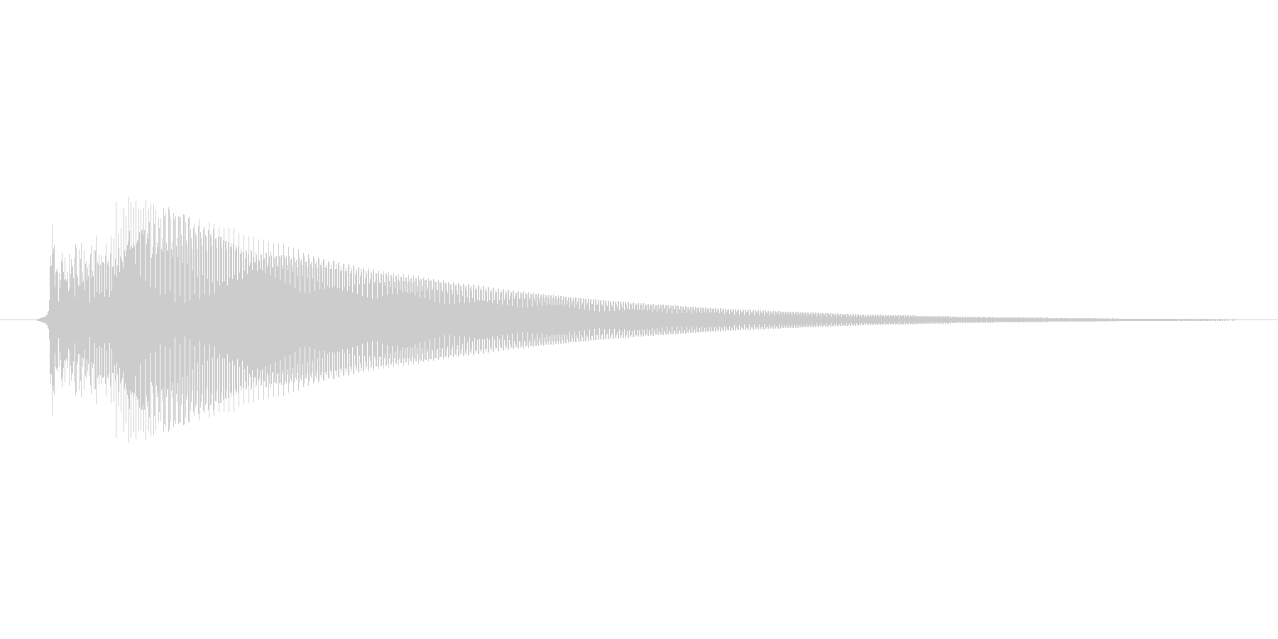「コロンッ」スマホアプリのタッチ音想定。の未再生の波形