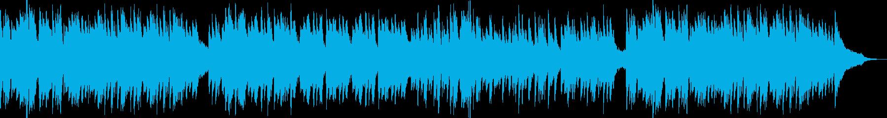 感動的なシーンのBGMに使えるピアノ曲の再生済みの波形