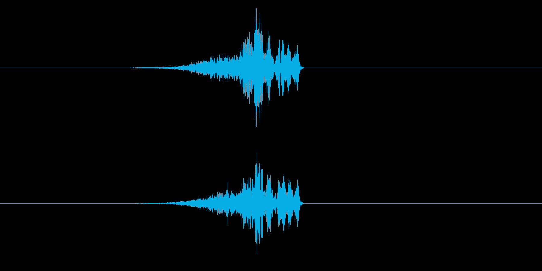 シューチュン(シューティング、ビーム)の再生済みの波形