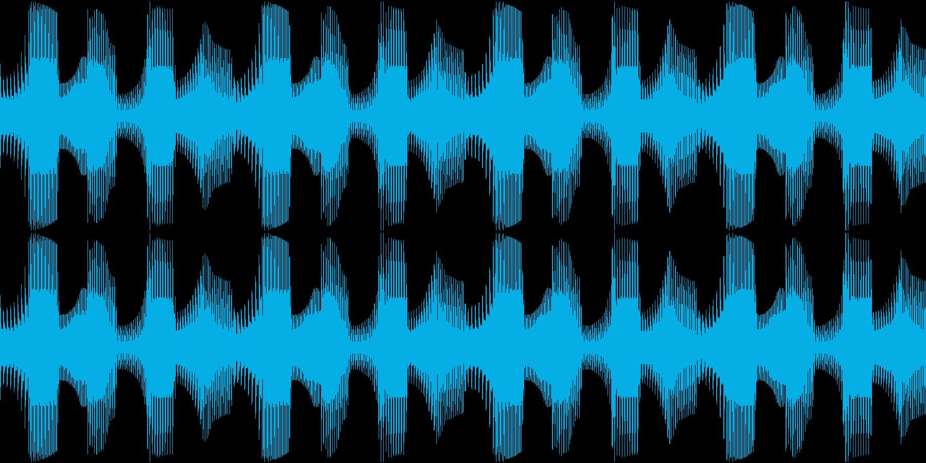 Techno ベース 5 音楽制作用の再生済みの波形