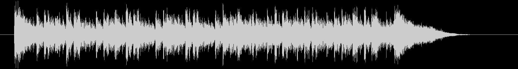 パーカッション系シークエンサーのEDMの未再生の波形