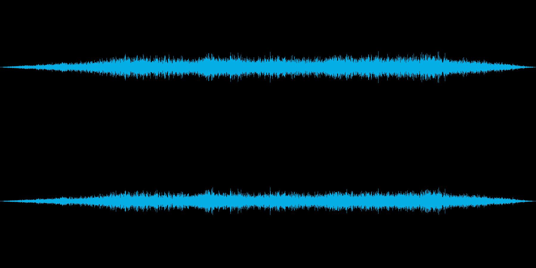 飛行機(旅客機)が飛ぶ音1の再生済みの波形
